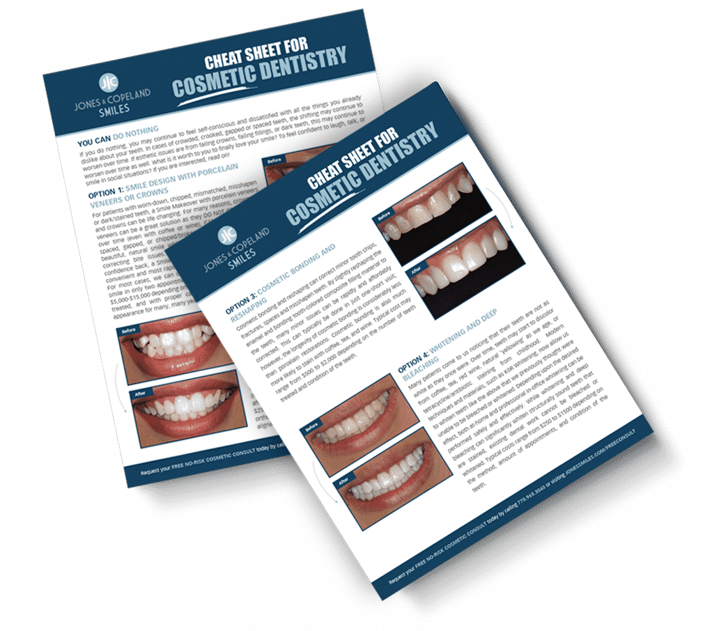 Cosmetic Dentistry Cheat Sheet ebook